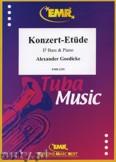Okładka: Goedicke Alexander, Konzert-Etüde - Tuba