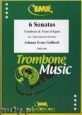 Okładka: Galliard Johann Ernst, 6 Sonatas - Trombone