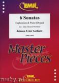 Okładka: Galliard Johann Ernst, 6 Sonatas - Euphonium