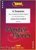 Ok�adka: Galliard Johann Ernst, 6 Sonatas - Trombone