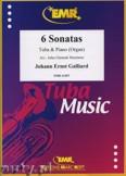 Okładka: Galliard Johann Ernst, 6 Sonatas - Tuba