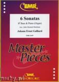 Ok�adka: Galliard Johann Ernst, 6 Sonatas - Tuba