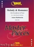 Ok�adka: Rubinstein Antoni, Melody & Romance - Saxophone