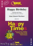 Okładka: Mortimer John Glenesk, Happy Birthday - CLARINET