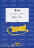 Ok�adka: Raue Reinhard, Trio for Horn in F, Violin and Piano