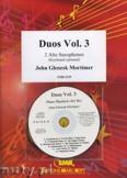 Ok�adka: Mortimer John Glenesk, Duos Vol. 3 - Saxophone