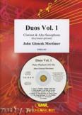 Okładka: Mortimer John Glenesk, Duos Vol. 1 for Clarinet and Alto Sax