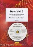 Okładka: Mortimer John Glenesk, Duos Vol. 2  for Clarinet and Alto Sax