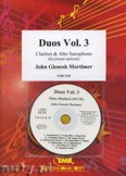 Okładka: Mortimer John Glenesk, Duos Vol. 3  for Clarinet and Alto Sax