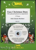 Okadka: Mortimer John Glenesk, Easy Christmas Duos - Flute