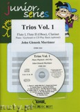 Okładka: Mortimer John Glenesk, Trios, Vol. 1 for 2 Flutes (Oboe) and Clarinet
