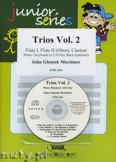 Okładka: Mortimer John Glenesk, Trios, Vol. 2 for 2 Flutes (Oboe) and Clarinet