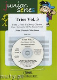 Ok�adka: Mortimer John Glenesk, Trios, Vol. 3 for 2 Flutes (Oboe) and Clarinet