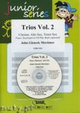Ok�adka: Mortimer John Glenesk, Trios, Vol. 2 for Clarinet, Alto and Tenor Sax