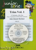 Okładka: Mortimer John Glenesk, Trios Vol. 1 for 2 Clarinets and Alto Sax