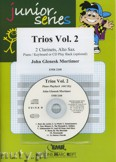 Ok�adka: Mortimer John Glenesk, Trios, Vol. 2 for 2 Clarinets and Alto Sax
