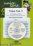 Ok�adka: Mortimer John Glenesk, Trios, Vol. 3 for 2 Clarinets and Alto Sax