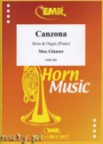 Ok�adka: Glauser Max, Canzona - Horn