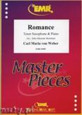Okładka: Weber Carl Maria Von, Romance - Saxophone