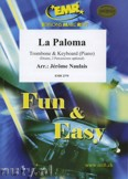 Okładka: Naulais Jérôme, La Paloma - Trombone