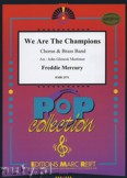 Okładka: Queen, Mercury Freddie, We Are The Champions (Chorus SATB) - BRASS BAND