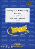 Ok�adka: Czajkowski Piotr, Triumphs Of Tchaikovsky - BRASS BAND