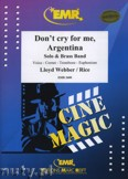 Okładka: Webber Andrew Lloyd, Don't Cry For Me, Argentina