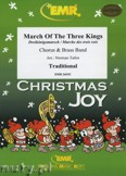 Okładka: Tailor Norman, March Of The Three Kings (Chorus SATB) - BRASS BAND