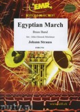 Ok�adka: Strauss Johann, Egyptian March - BRASS BAND