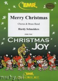 Okładka: Schneiders Hardy, Merry Christmas (Chorus SATB) - BRASS BAND