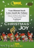 Okładka: Schneiders Hardy, Vom Himmel hoch / Leise rieselt (Chorus SATB) - BRASS BAND