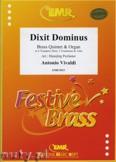 Okładka: Vivaldi Antonio, Dixit Dominus  - BRASS ENSAMBLE