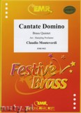 Okładka: Monteverdi Claudio, Cantate Domine  - BRASS ENSAMBLE