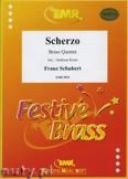 Okładka: Schubert Franz, Scherzo  - BRASS ENSAMBLE