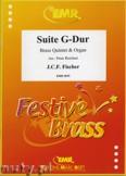 Okładka: Fischer Johann, Suite G-Dur - BRASS ENSAMBLE