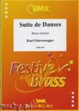 Ok�adka: Sturzenegger Kurt, Suite de Danses - BRASS ENSAMBLE