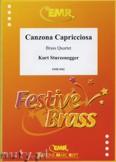 Okładka: Sturzenegger Kurt, Canzona Capricciosa - BRASS ENSAMBLE