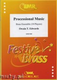 Okładka: Edwards Owain, Processional Music for Brass Ensemble