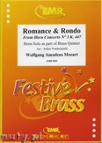 Ok�adka: Mozart Wolfgang Amadeusz, Romanze & Rondo - BRASS ENSAMBLE