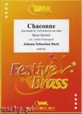 Ok�adka: Bach Johann Sebastian, Chaconne - BRASS ENSAMBLE