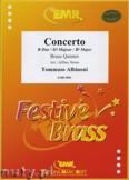 Okładka: Albinoni Tomaso, Konzert B-Dur  - BRASS ENSAMBLE
