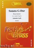 Okładka: Lotti Antonio, Sonata G-Dur - BRASS ENSAMBLE