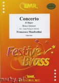 Ok�adka: Manfredini Francesco, Konzert in D-Dur  - BRASS ENSAMBLE