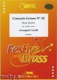 Okładka: Corelli Arcangelo, Concerto Grosso N° 10 - BRASS ENSAMBLE