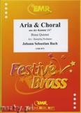 Ok�adka: Bach Johann Sebastian, Arie & Choral aus der Kantate 147 - BRASS ENSAMBLE