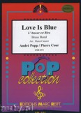 Ok�adka: Popp Andr�, L'Amour est Bleu - BRASS BAND