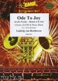 Okładka: Beethoven Ludwig Van, An die Freude (Chorus SATB) - BRASS BAND