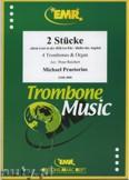 Okładka: Praetorius Michael, 2 Stücke  - Trombone
