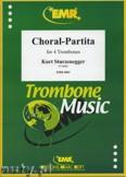 Ok�adka: Sturzenegger Kurt, Choral-Partita - Trombone