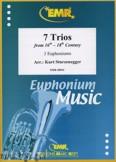 Okładka: Sturzenegger Kurt, 7 Trios aus der 16.-18. Jahrhundert - Euphonium